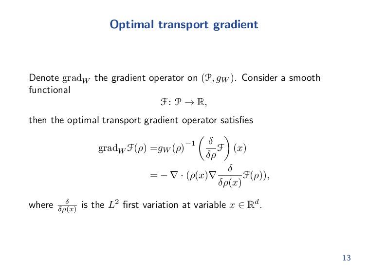 Optimal transport Mapping formulation: Monge pr...