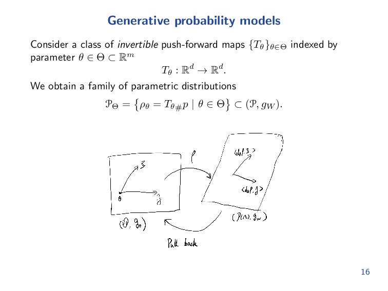 Optimal transport gradient flows Consider the Ku...