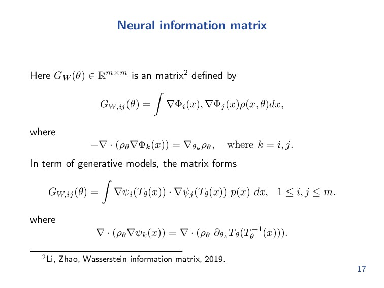 Generative Adversary Networks For each paramete...