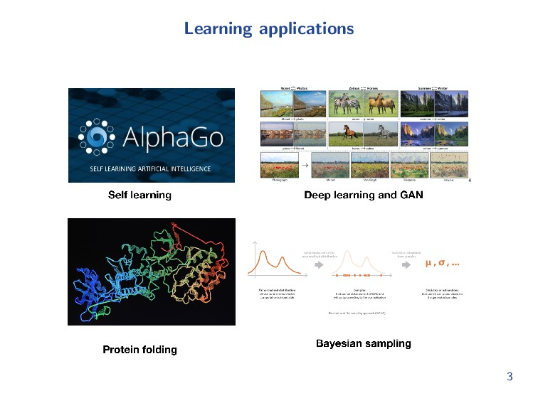 Learning applications 3