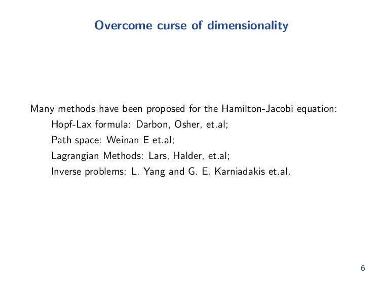 Related works In computing FPEs, many numerical...
