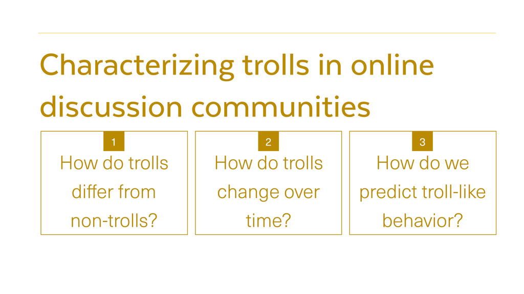 Characterizing trolls in online discussion comm...