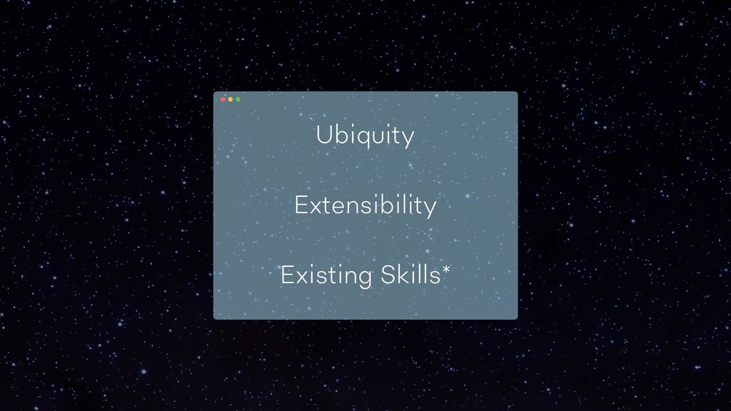 Ubiquity Extensibility Existing Skills*