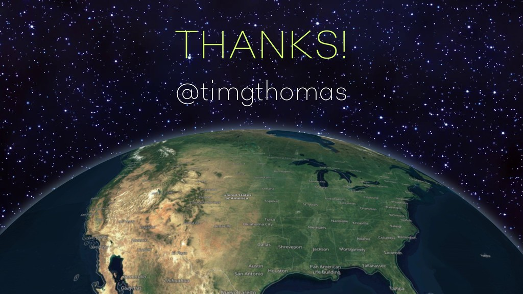 ELECTRON THANKS! @timgthomas