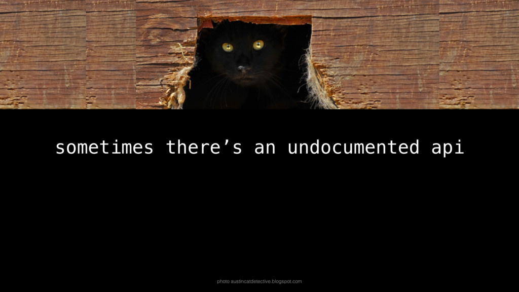 sometimes there's an undocumented api photo aus...