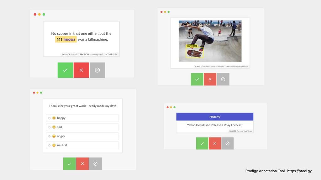 Prodigy Annotation Tool · https://prodi.gy