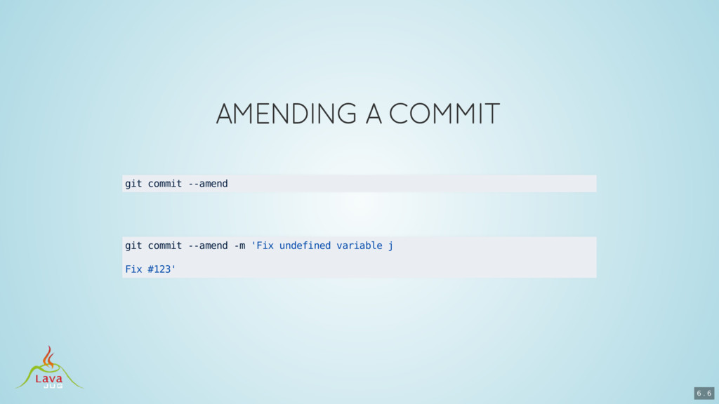git commit --amend git commit --amend -m 'Fix u...