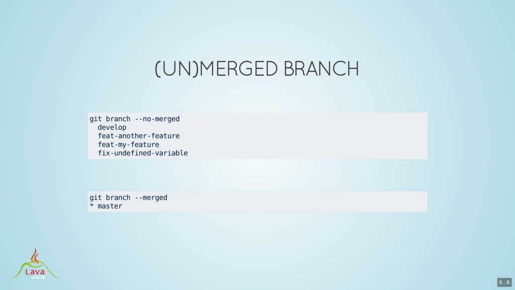 git branch --no-merged develop feat-another-fea...