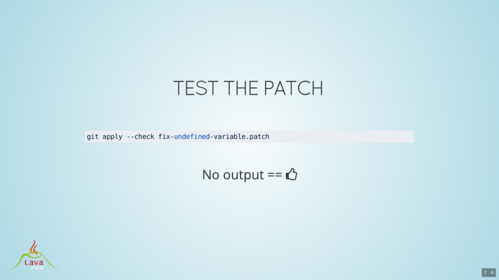 git apply --check fix-undefined-variable.patch ...