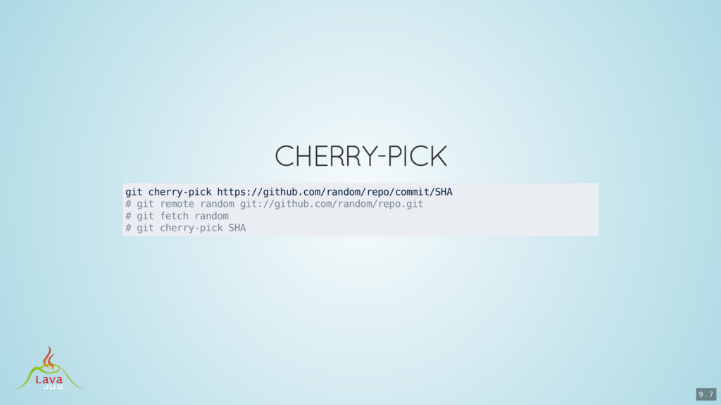 git cherry-pick https://github.com/random/repo/...