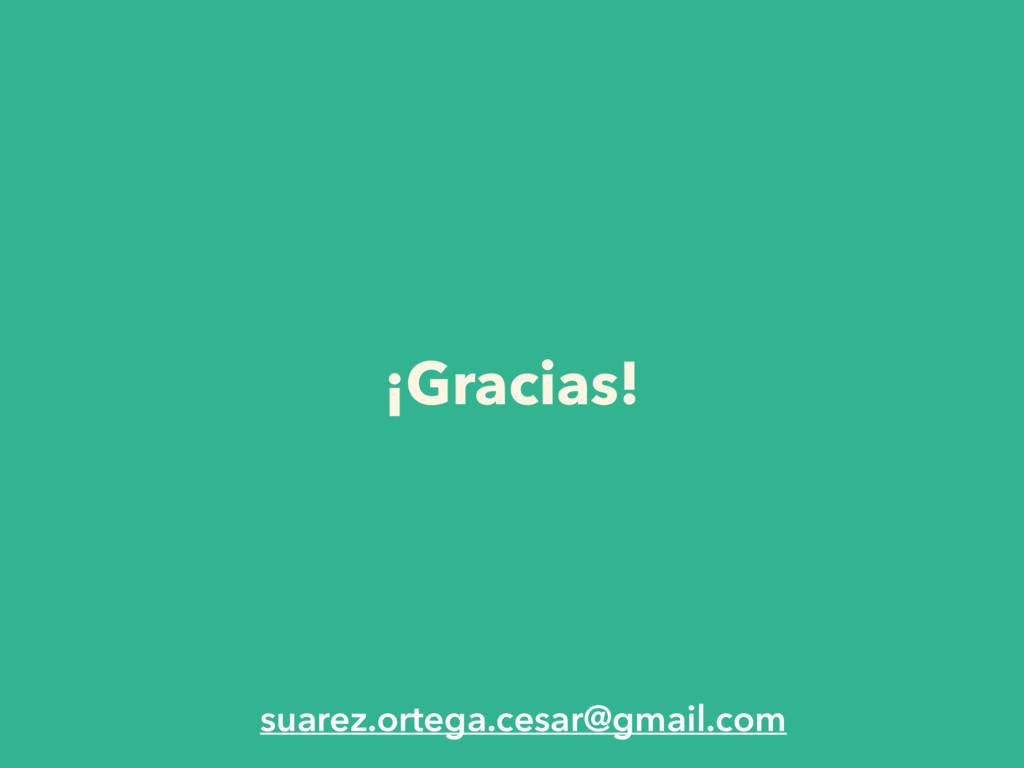 ¡Gracias! suarez.ortega.cesar@gmail.com