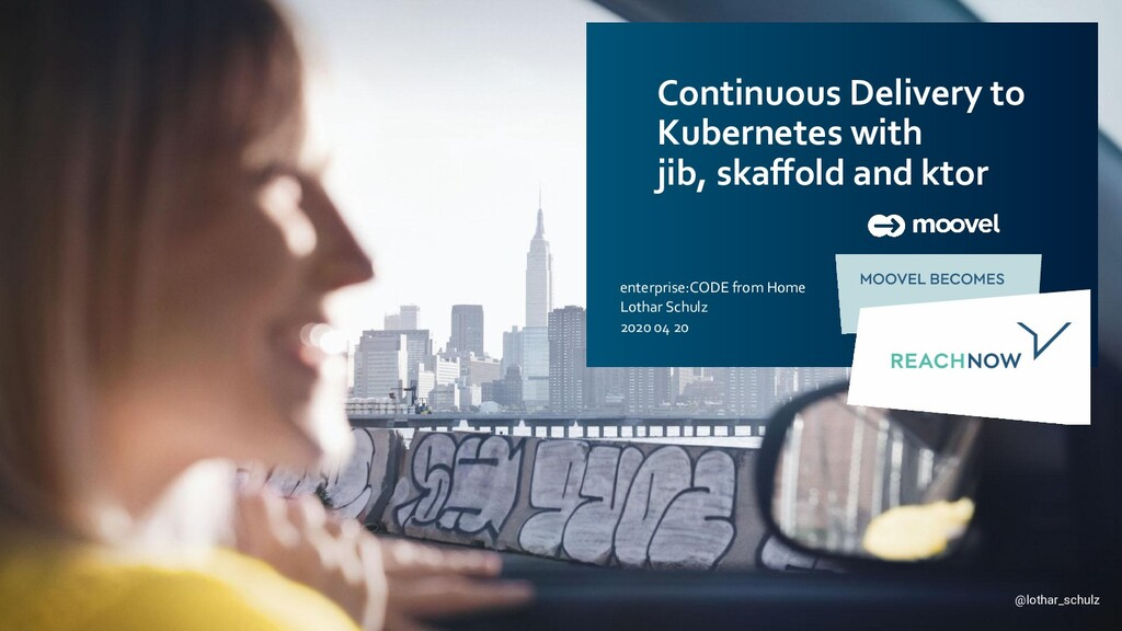 Continuous Delivery to Kubernetes with jib, ska...