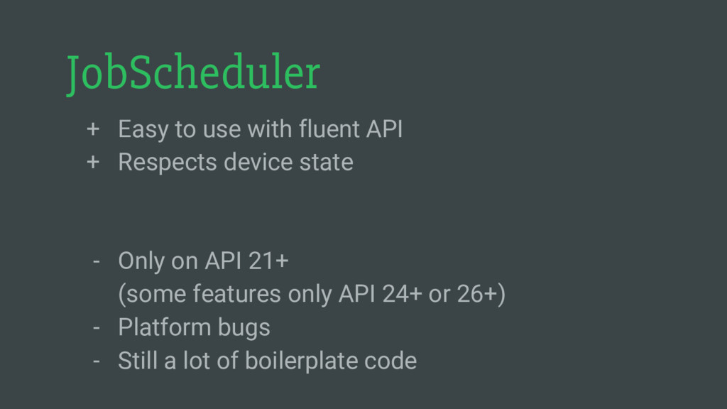 JobScheduler + Easy to use with fluent API + Re...