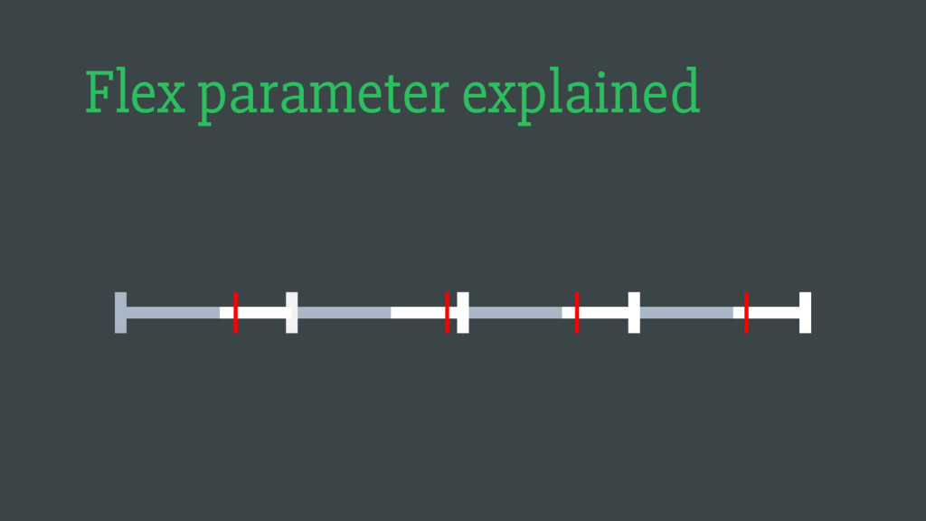 Flex parameter explained