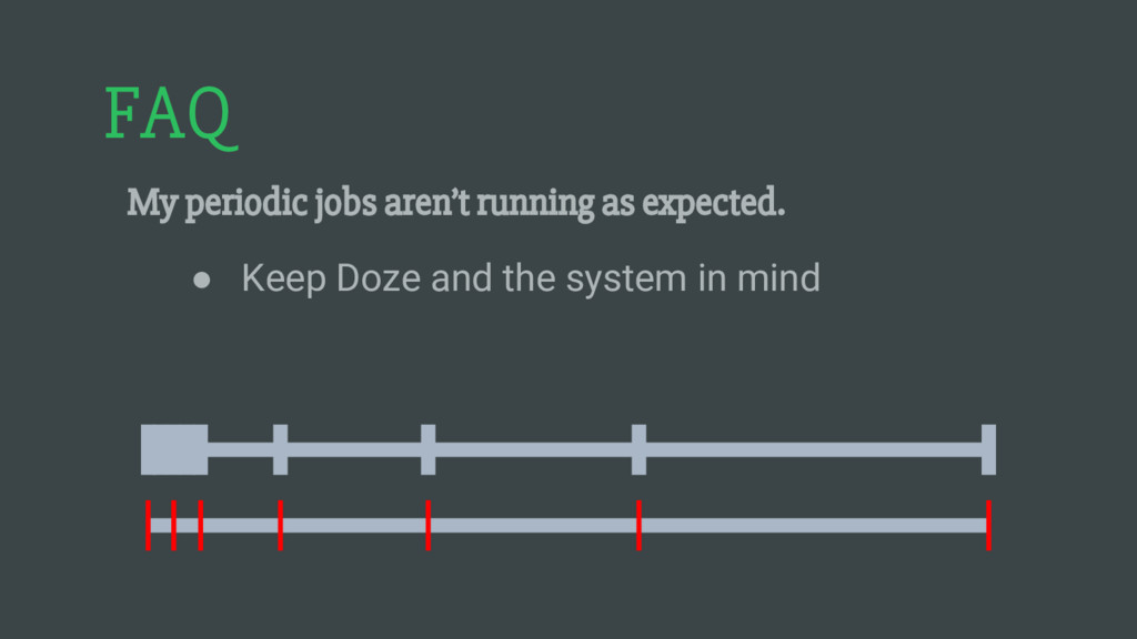 FAQ My periodic jobs aren't running as expected...