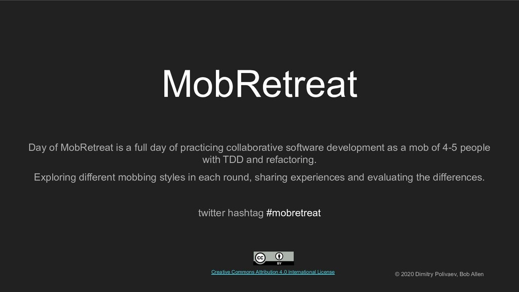 MobRetreat Day of MobRetreat is a full day of p...