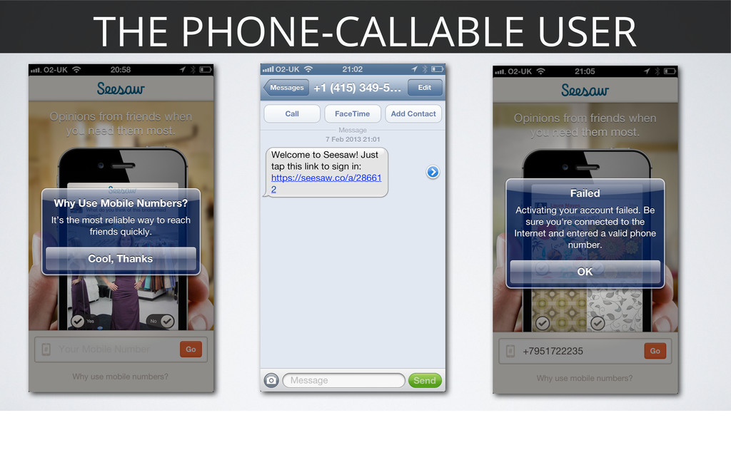 THE PHONE-CALLABLE USER