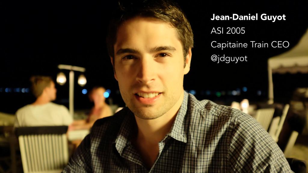 Jean-Daniel Guyot Capitaine Train CEO @jdguyot ...