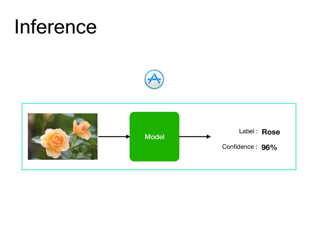 Inference Model Label : 96% Confidence : Rose
