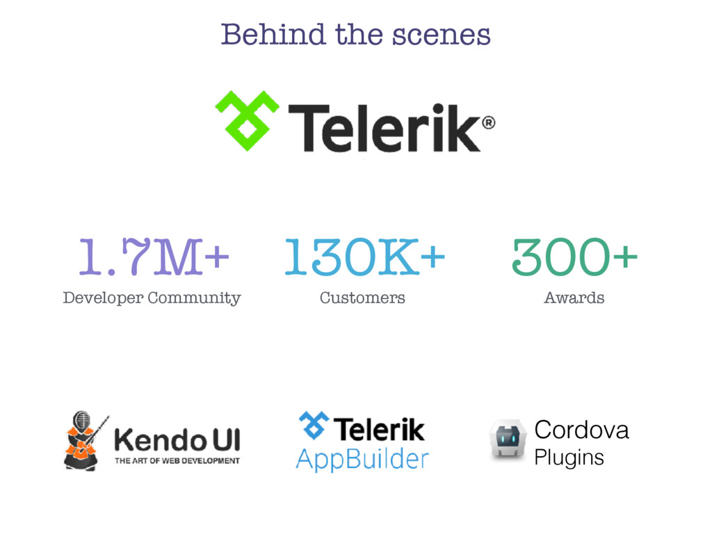 Behind the scenes Cordova Plugins 1.7M+ Develop...