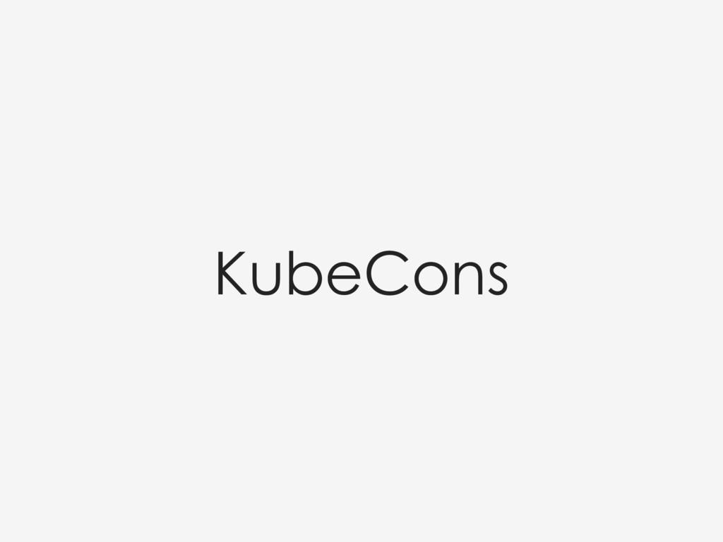 KubeCons