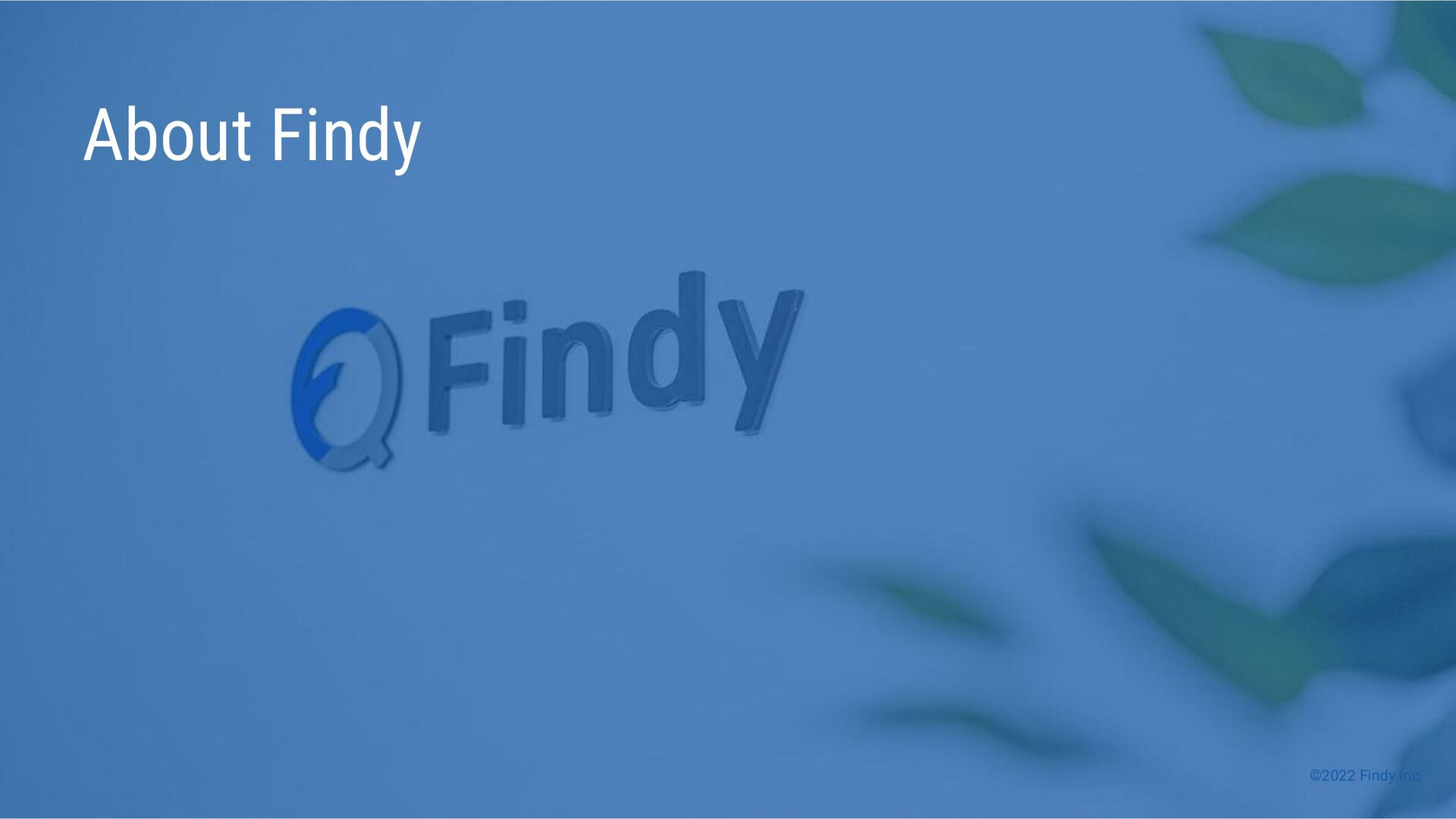 ©2021 Findy Inc. About Findy