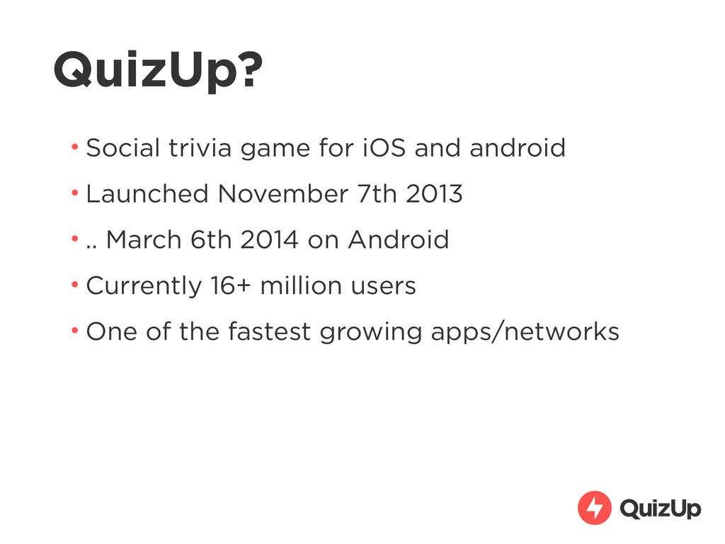 QuizUp? • Social trivia game for iOS and androi...