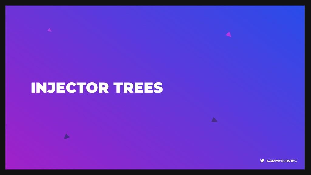 KAMMYSLIWIEC INJECTOR TREES