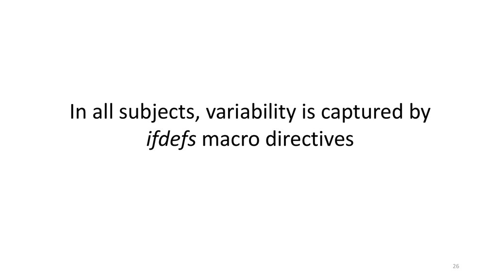In all subjects, variability is captured by ifd...