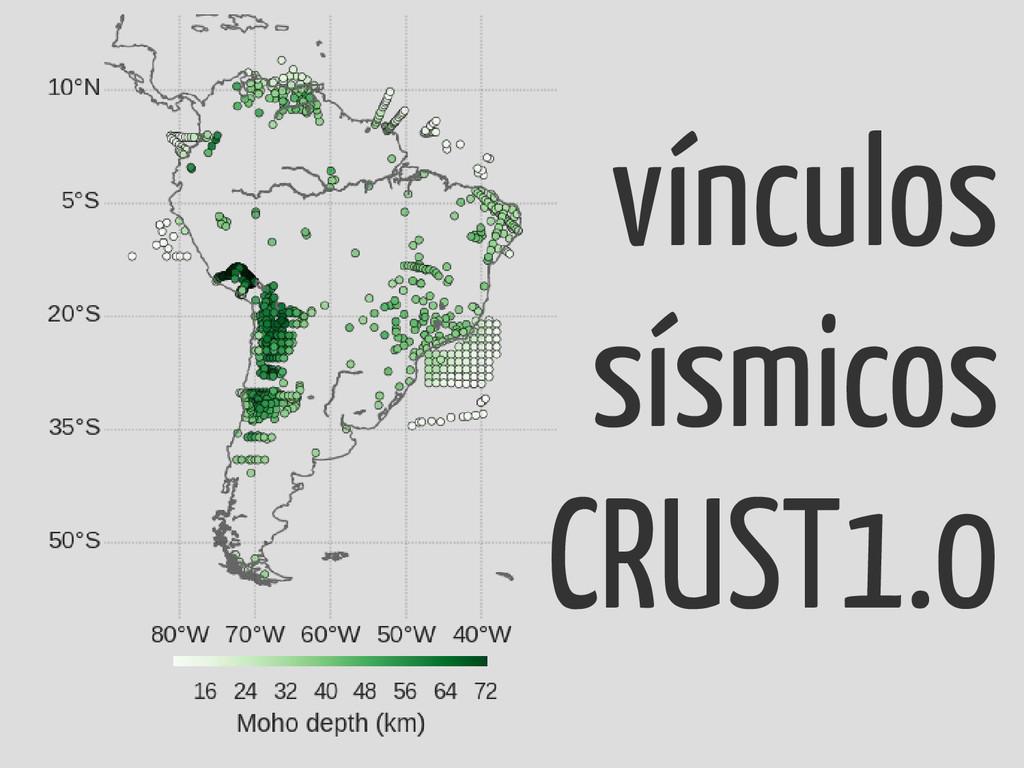 vínculos sísmicos CRUST1.0