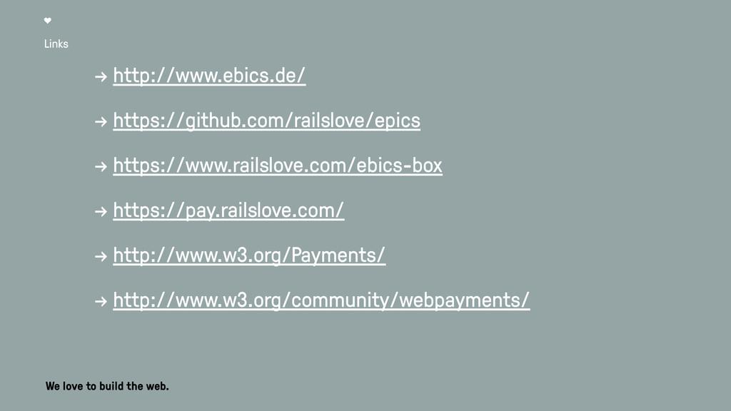 Links → http://www.ebics.de/ → https://github.c...
