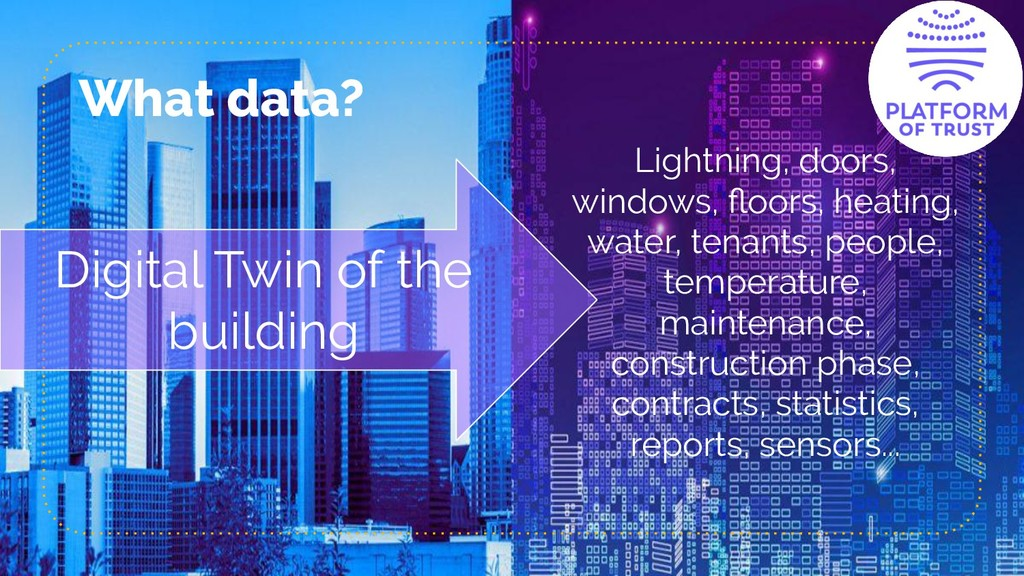 What data? Lightning, doors, windows, floors, he...