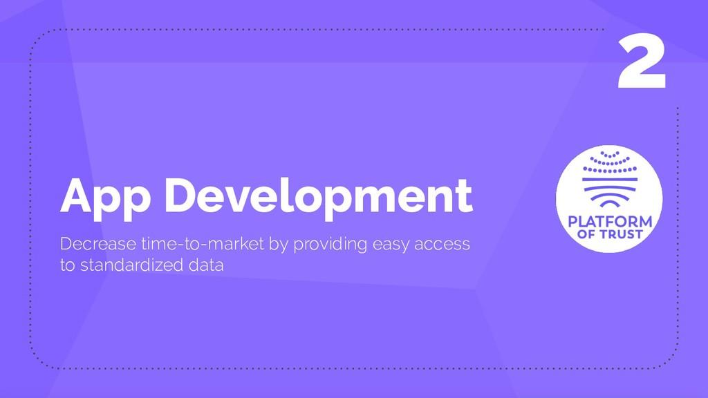 App Development Decrease time-to-market by prov...
