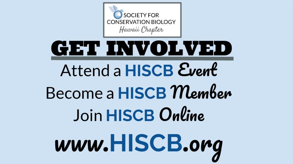 GET INVOLVED Attend a HISCB E Become a HISCB M ...