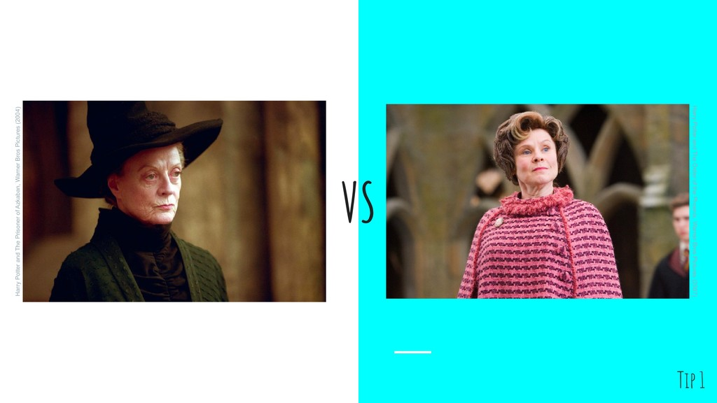 VS Harry Potter and The Prisoner of Azkaban, Wa...
