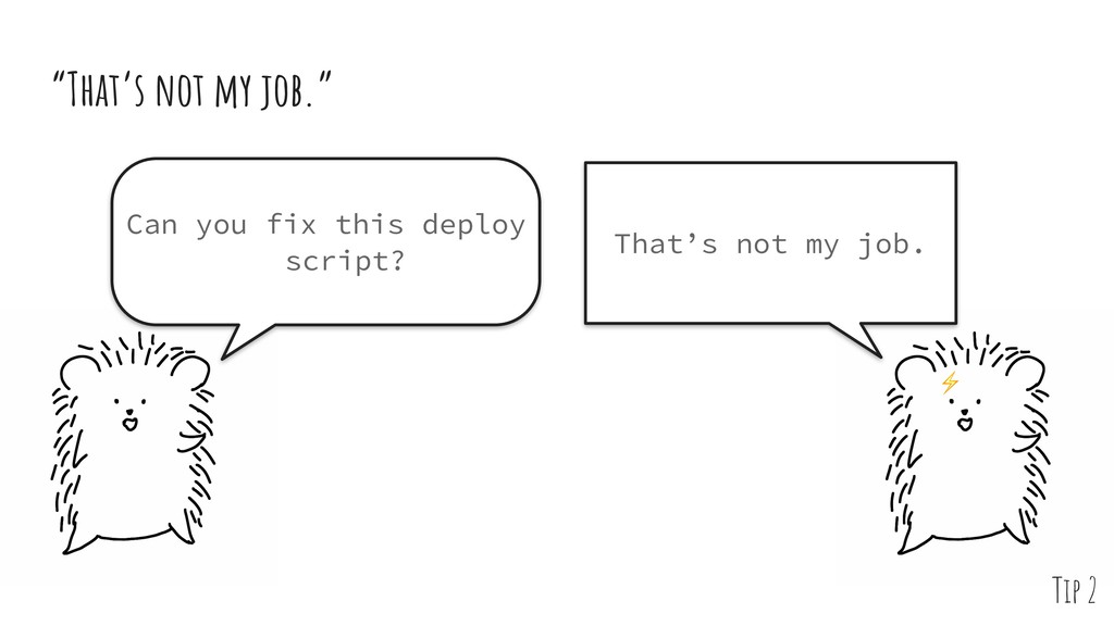 Can you fix this deploy script? That's not my j...