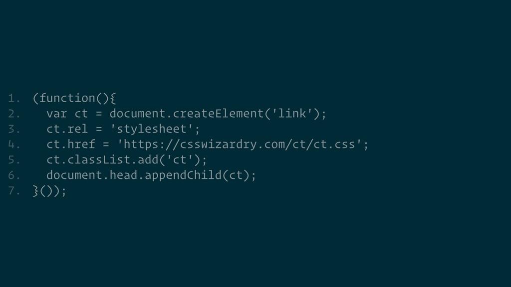 1. (function(){   2. var ct = document.createEl...