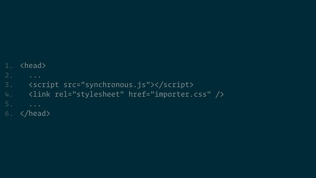 "1. <head>   2. ...   3. <script src=""synchronou..."