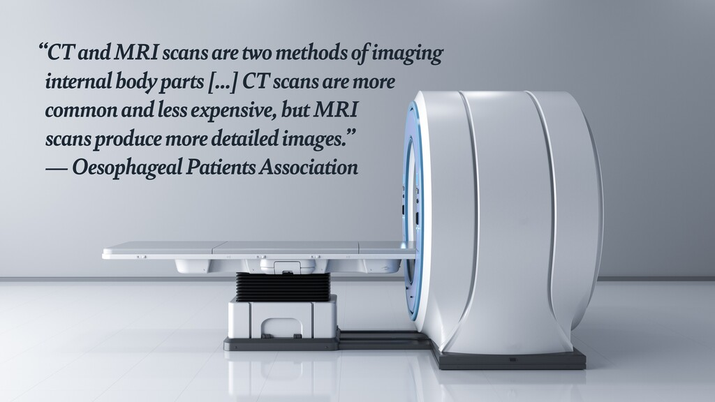 """""""CT and MRI scans are two methods of imaging  ..."""