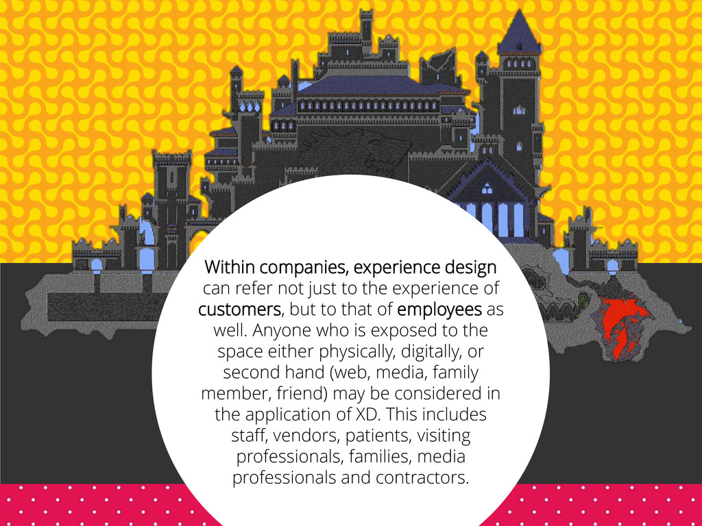 Within companies, experience design can refer n...