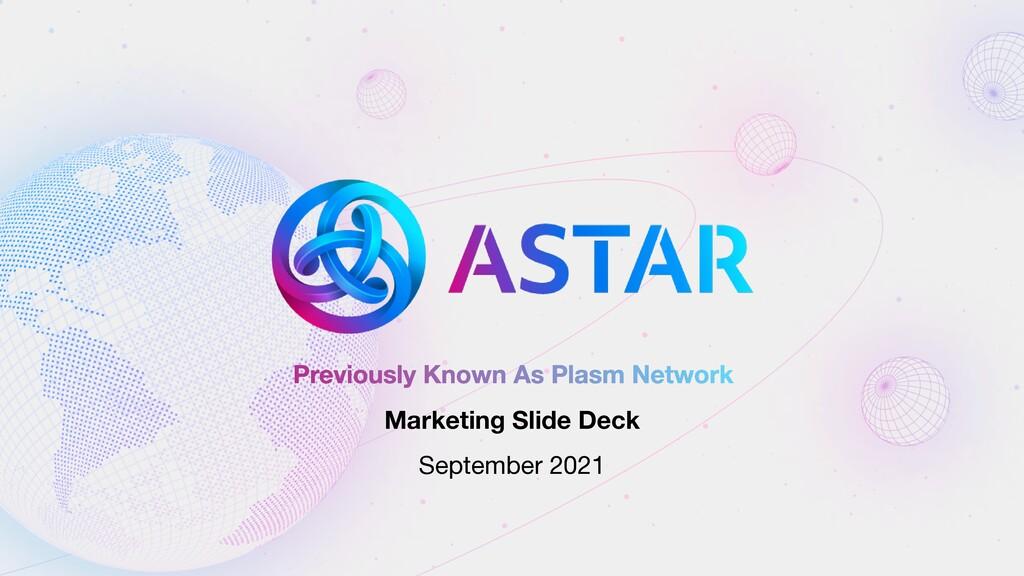 Previously Known As Plasm Network Marketing Sli...
