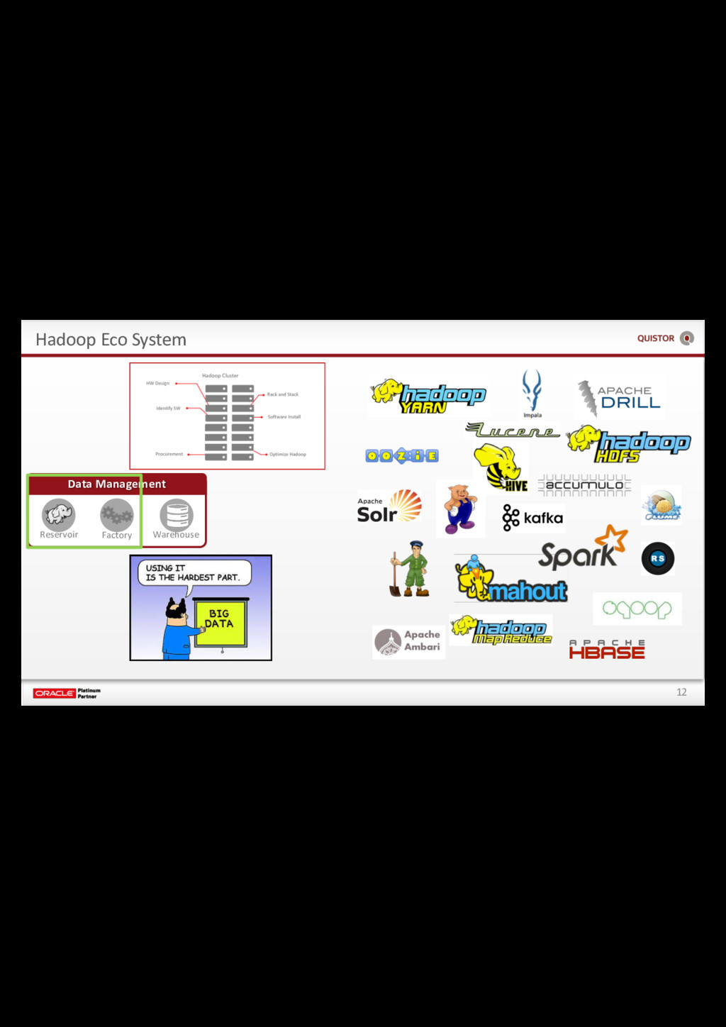 12 Hadoop Eco System Data Management Reservoir ...