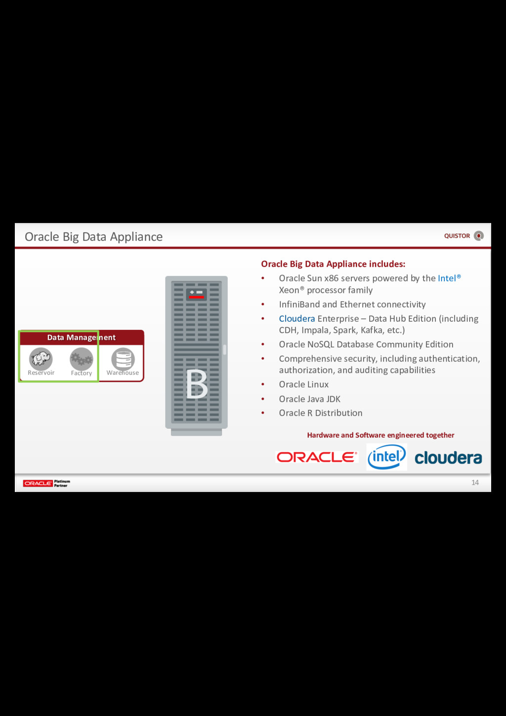 14 Oracle Big Data Appliance Data Management Re...