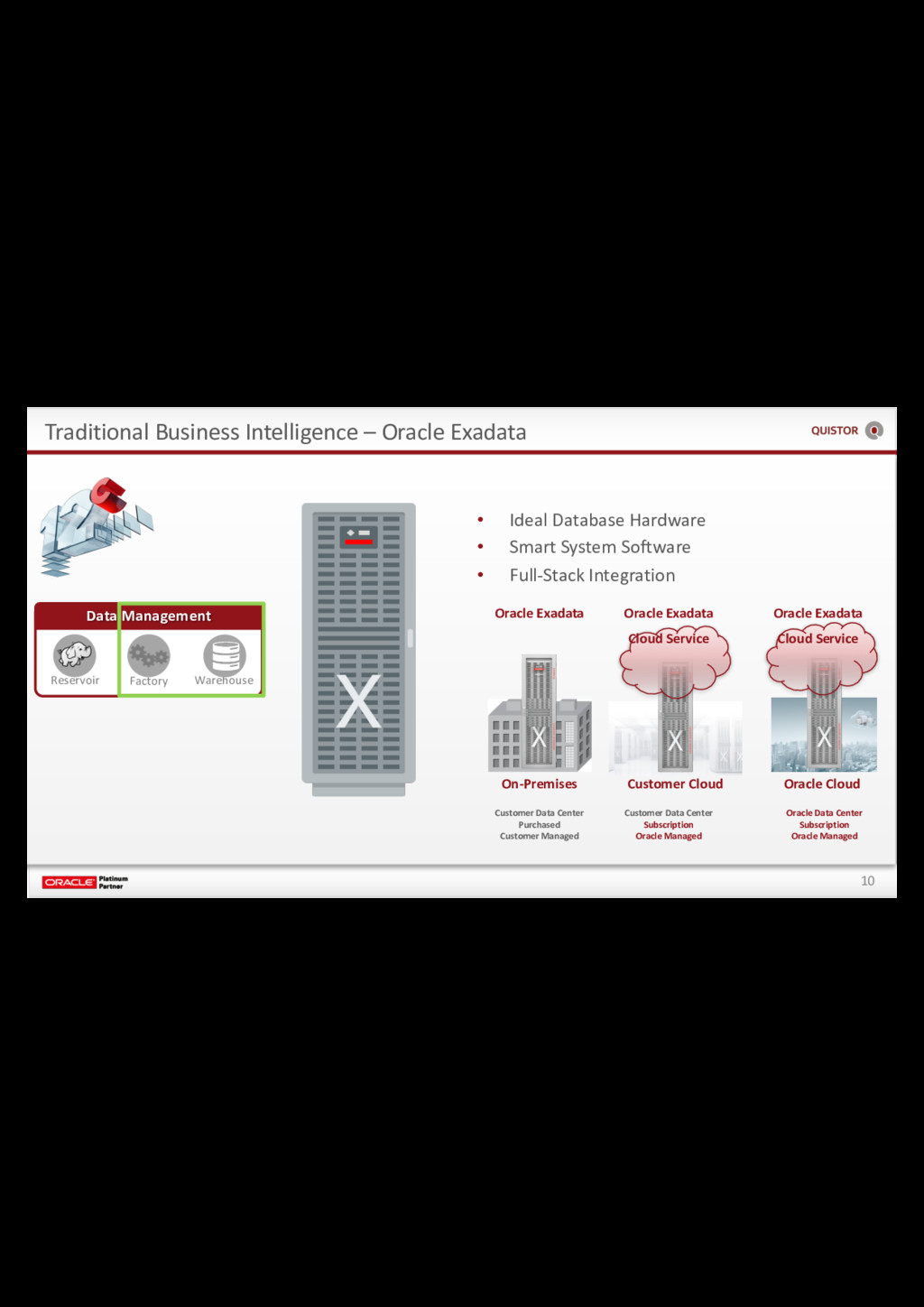 10 Traditional Business Intelligence – Oracle E...