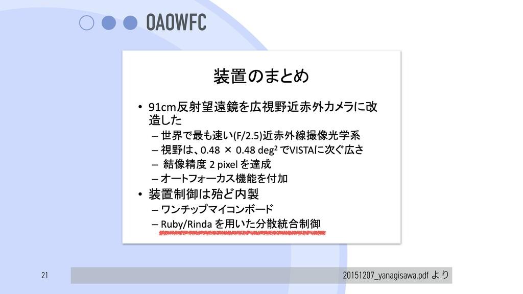 OAOWFC 20151207_yanagisawa.pdf ΑΓ 21