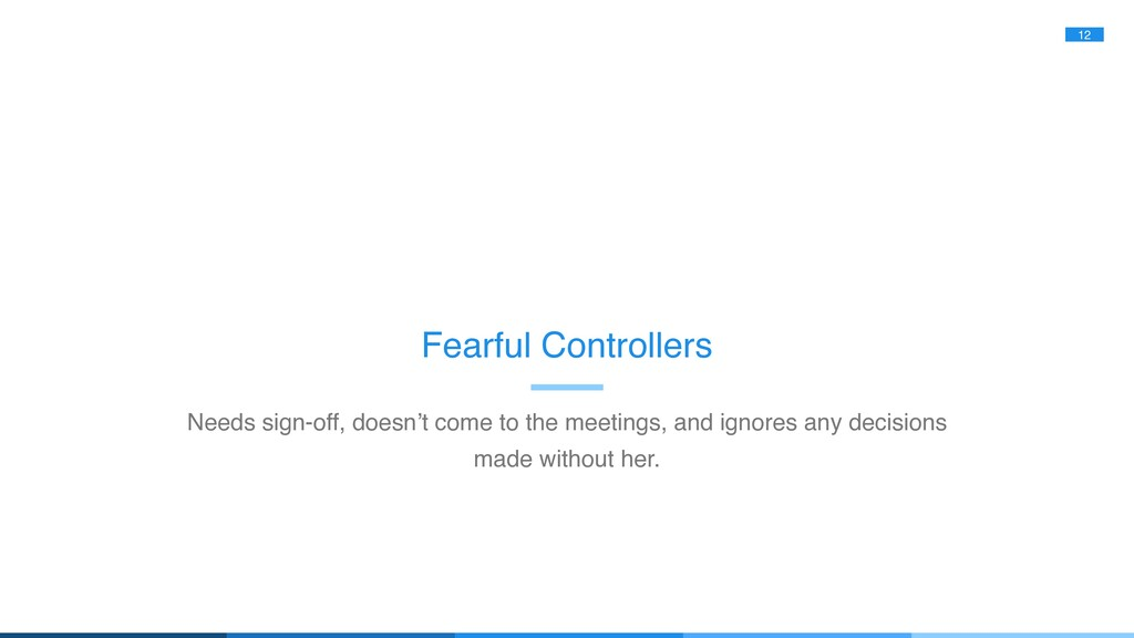 12 Fearful Controllers Needs sign-off, doesn't ...