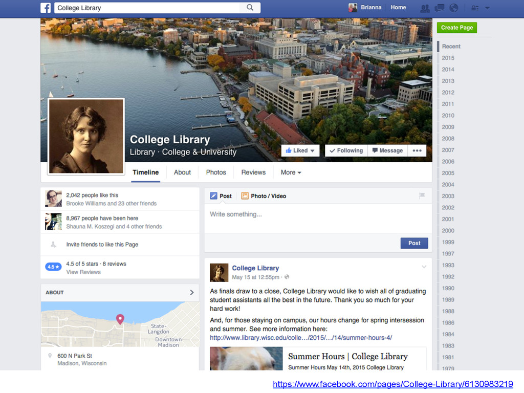 https://www.facebook.com/pages/College-Library/...