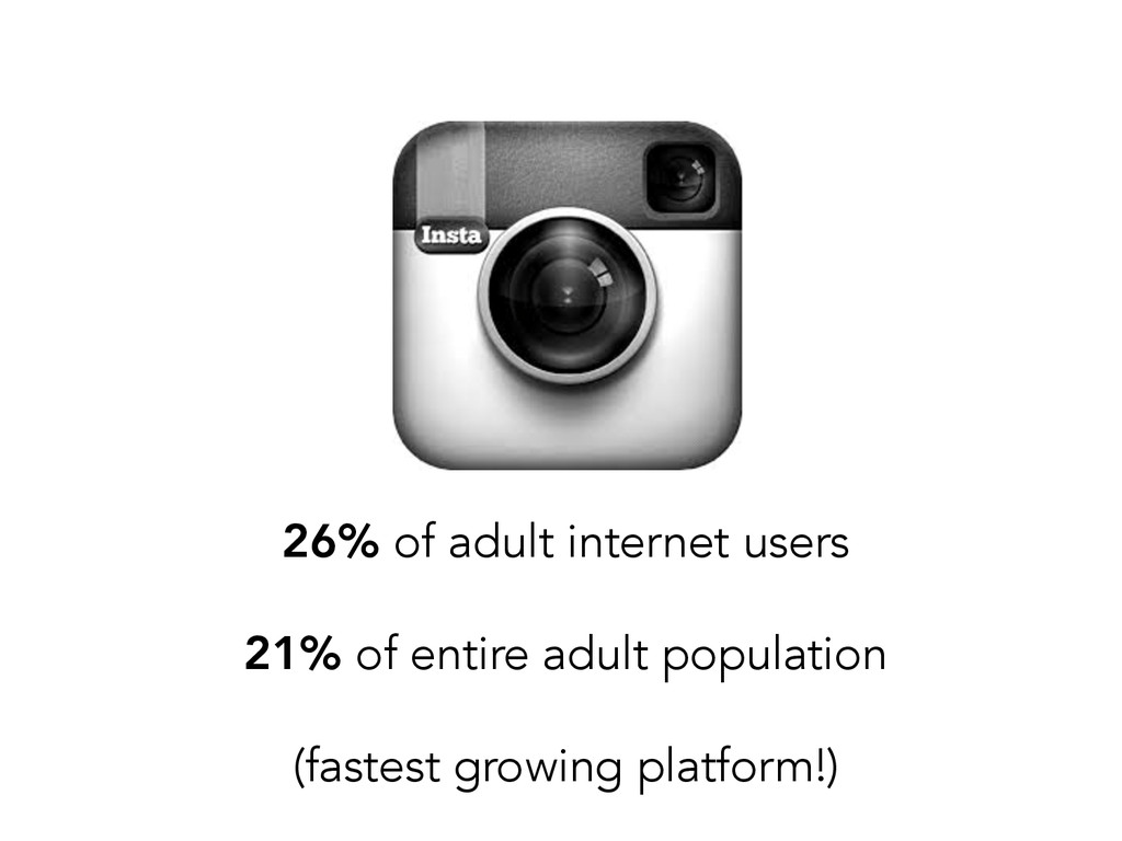 26% of adult internet users 21% of entire adult...