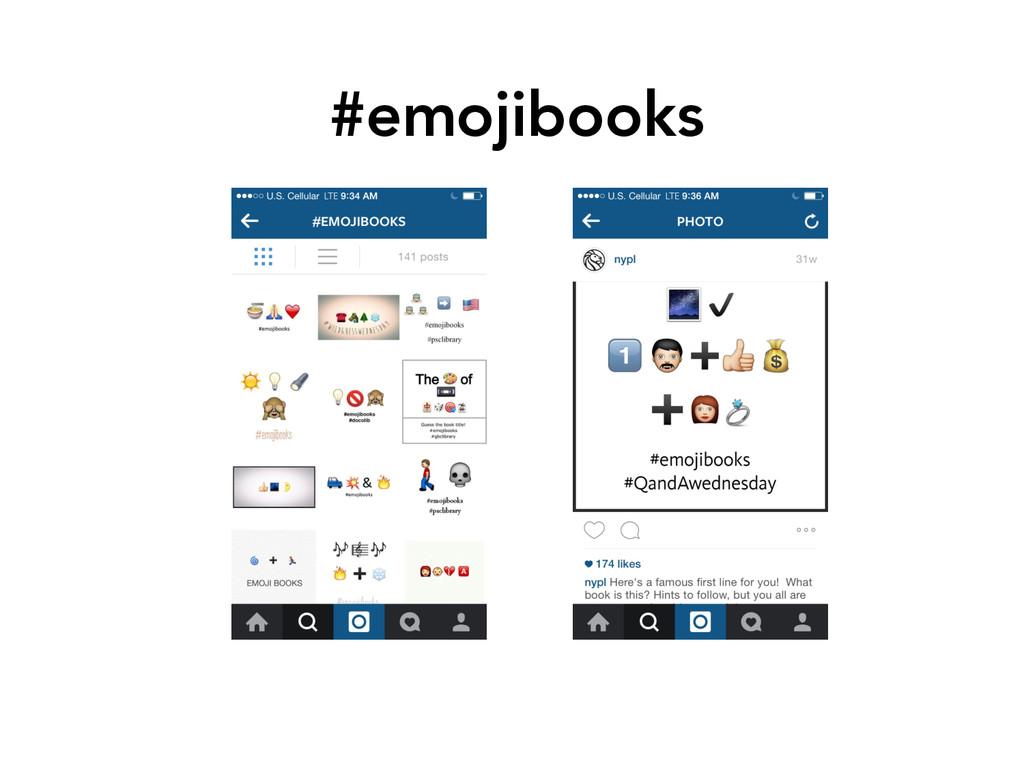#emojibooks