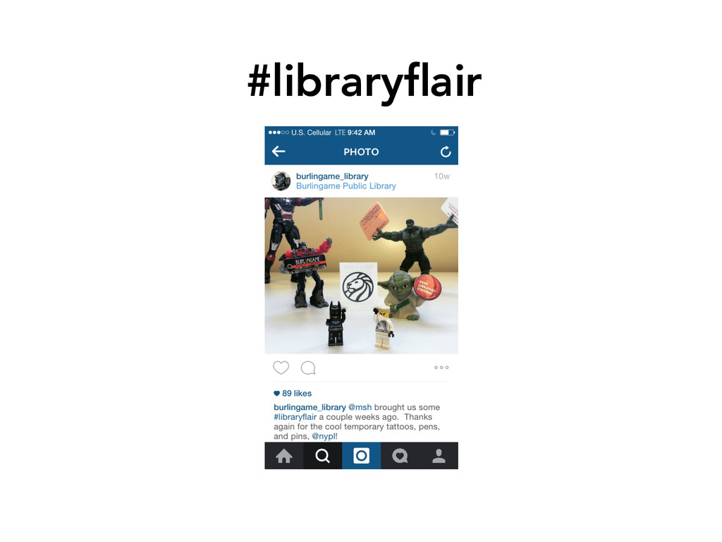 #libraryflair